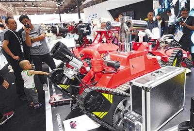 北京将支持机器人企业参与重大工程