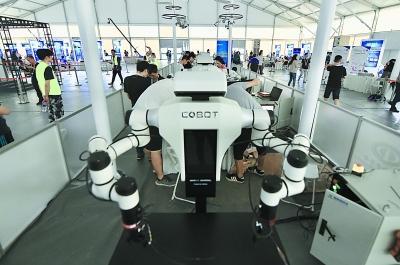 """机器人""""奥运会""""上演巅峰对决"""