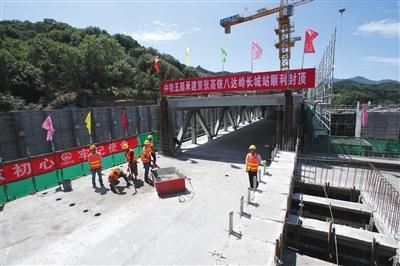 京张高铁下月初将开展联调联试
