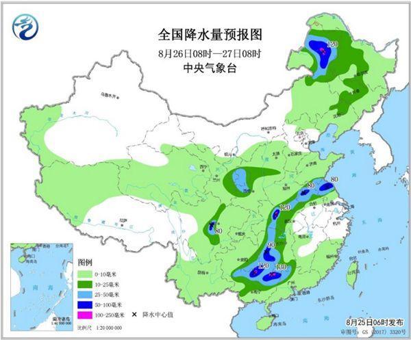 东南西南有较着降雨 重庆等低温持