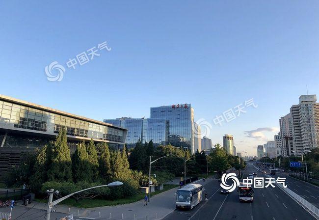 北京今天大风吹袭阵风可达7级 晴晒持续