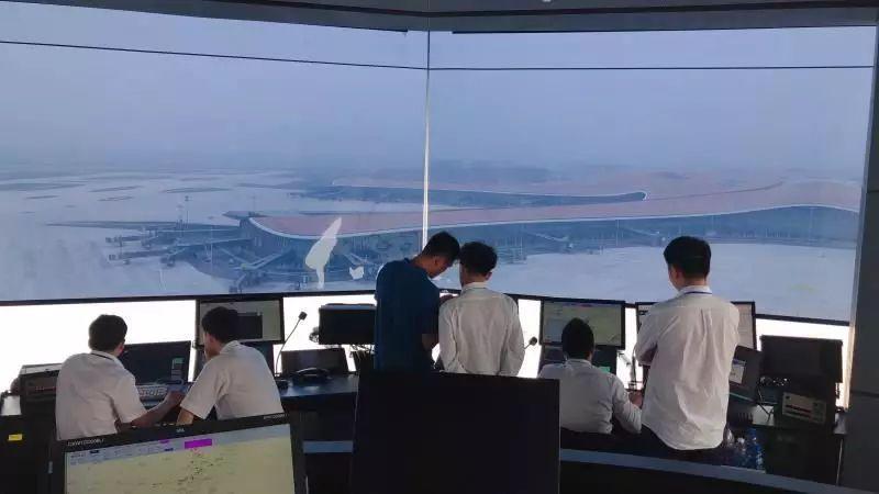 大兴机场开展低能见度验证飞行试验,自主空管系统显身手