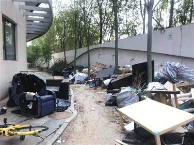 北京一小区常断电居民住酒店