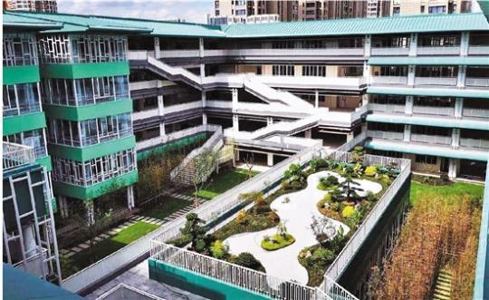 非常美!杭州下城区5所新校园启用