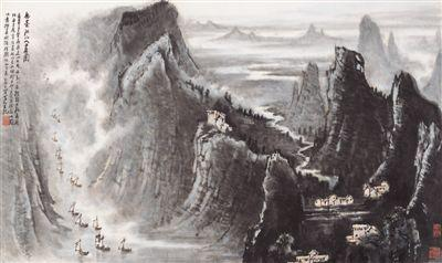 <b>新中国70年山水画新貌:美在河山 大气磅礴</b>