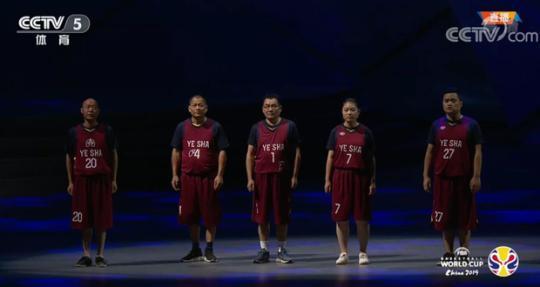 篮球世界杯开幕式上,他们替他与梦想相拥