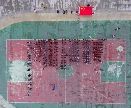汶川:灾后开学第一课