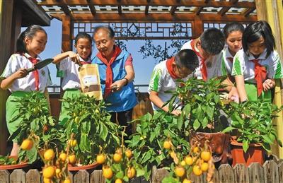 北京中小学迎来新学年 垃圾分类进入百校开学第一课
