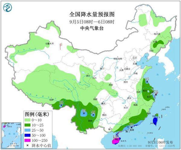 """台风""""减戏""""扰我国 南方局天日夜温好或达20℃"""