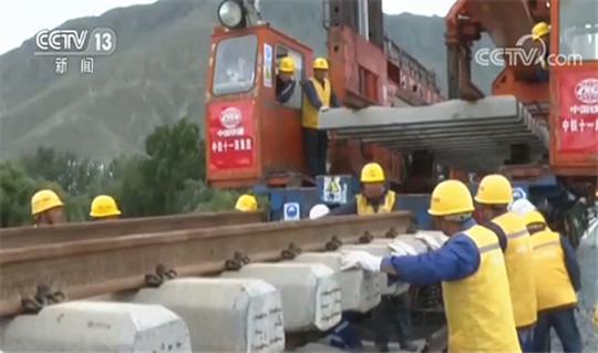 西藏:川藏铁路拉林段铺架到泽当站