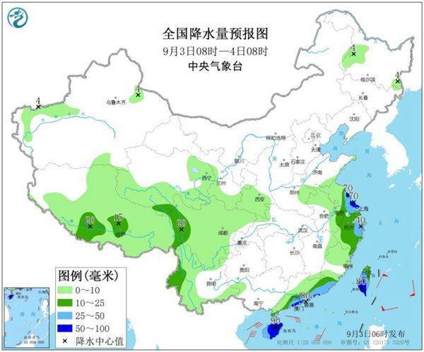 """台风""""加戏""""扰我国 北方局地昼夜温差或达20℃"""