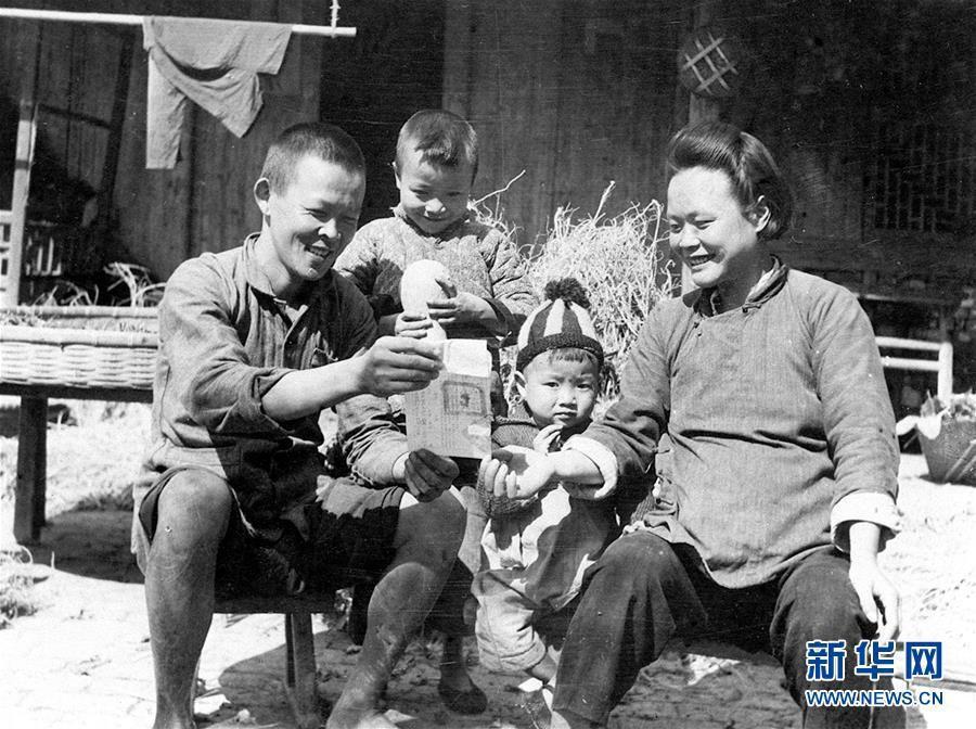 新中国峥嵘岁月|中新社为废除封建地盘制度