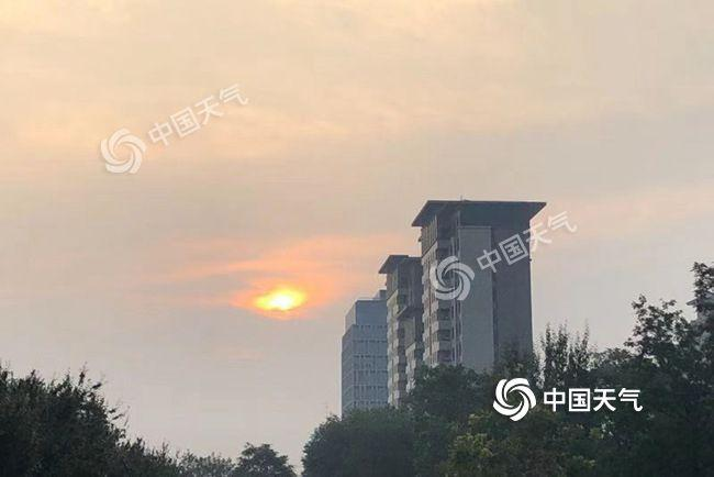 北京阴晒形式正在线 阴到多云连续至周终