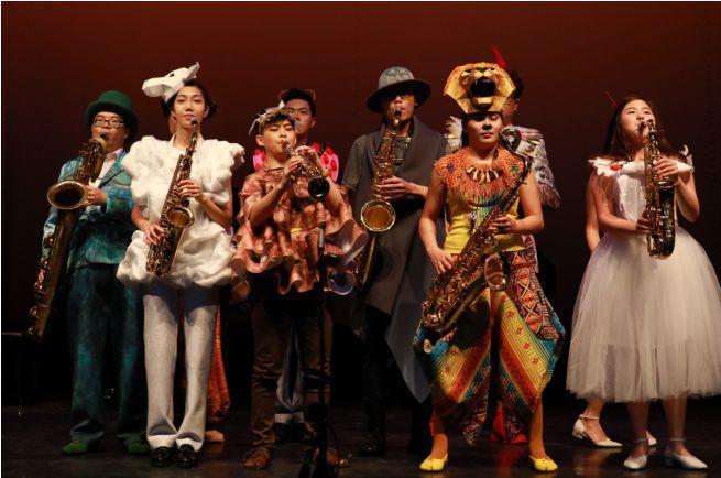 香港La Sax乐团《动物嘉年华之森林音乐派对》北京首演