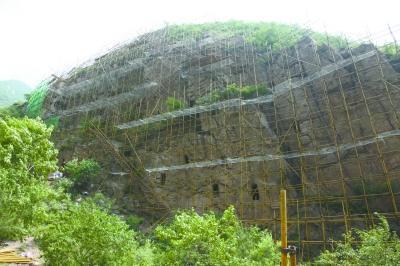 规模仅次古崖居 千年姚家营洞穴首次修缮保护