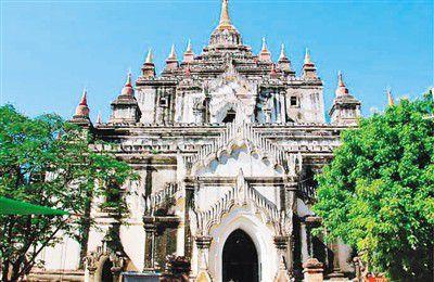 中方援助缅甸文物修复 蒲甘佛塔维修预计逾9年