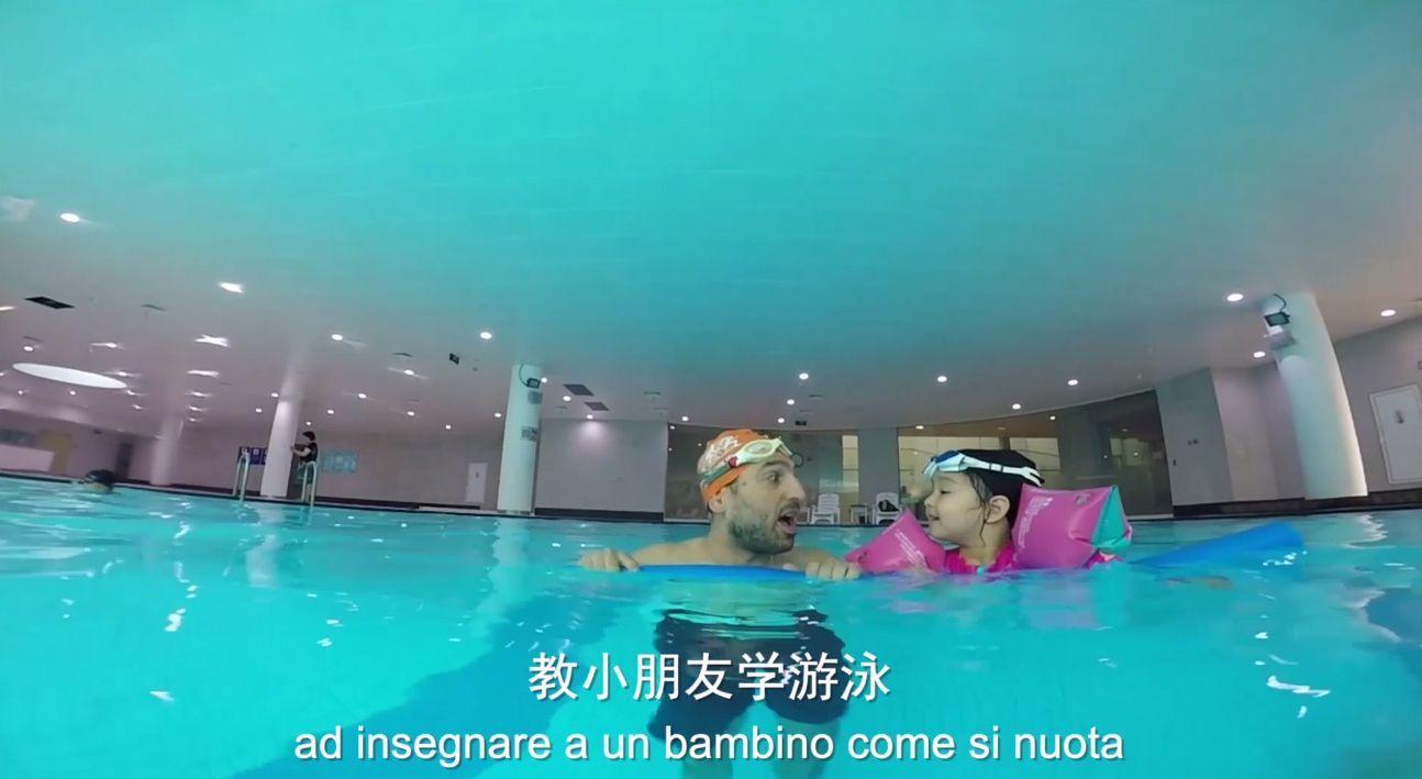 意大利健身教练晏瞿网:中国变得越来越有活力