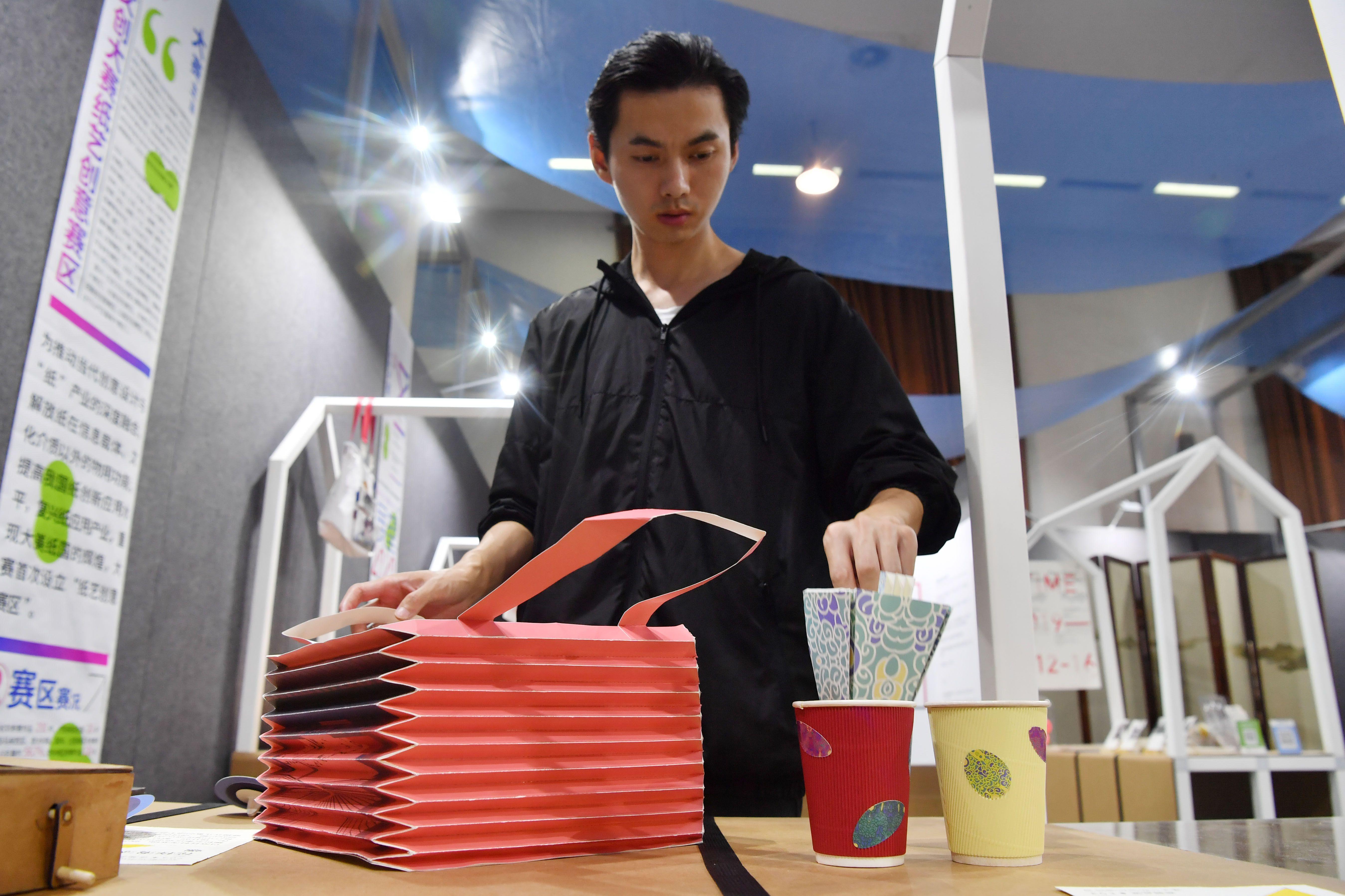 纸餐具、围棋饼干……看北京设计博览会上的全新生活方式
