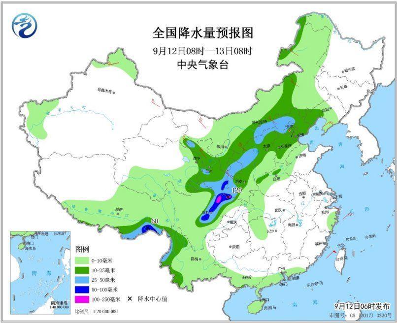 四川盆天雨势加强 南方热凉北方低温晋级