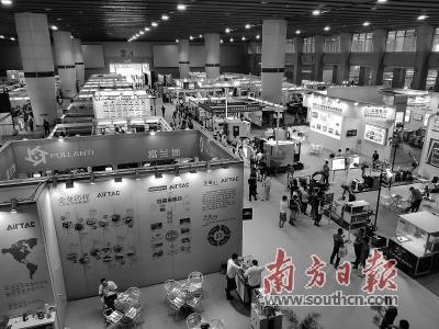 2019广州国际数控机床展开幕 230余家企业参展