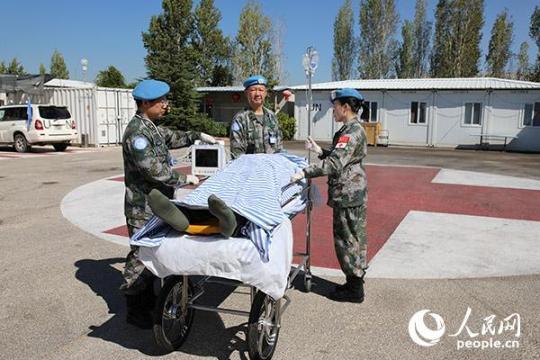 """中国维和医院圆满完成""""东区天使救援""""演习任务"""