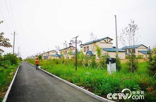 赫哲族聚居地之一黑龙江省同江市八岔赫哲族乡赫哲族村。(何川 摄)