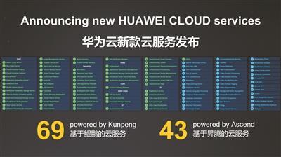 一口气发布上百款新服务 华为云将给云市场带来什么?