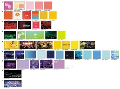 星海蓝、极光色……应援色成支持偶像新潮流