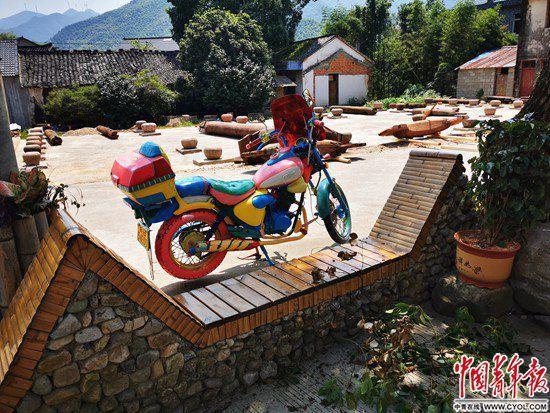一张椅子改变村庄 乡村振兴,村民一定得动起来