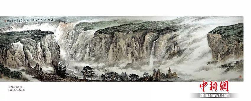 生于1949 | 他画祖国山河40年 60余次登顶长白山