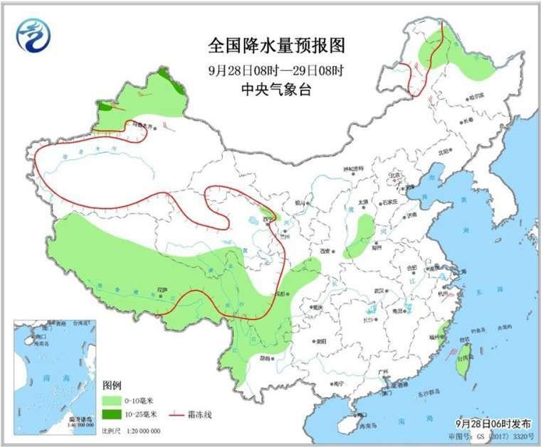 28日至30日中东部晴多雨少 江南华南气温将回升