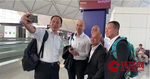 香港光头警长启程赴京:参加国庆70周年活动很荣幸
