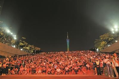 花城大合唱《我和我的祖国》 国庆文艺嘉年华连演9晚