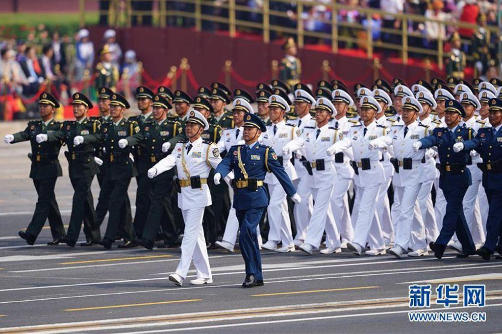 20个首次!新中国70华诞大阅兵亮点盘点