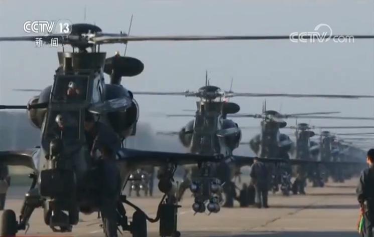 陆航直升机梯队:新编队 新成员 主战机型集体亮相
