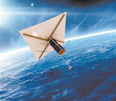 清理太空垃圾人人广州助孕有责 这颗卫星打算回收自己