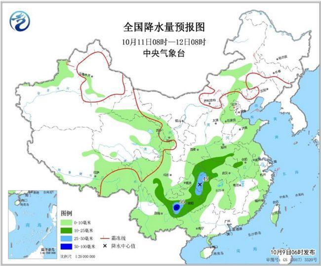 """明起热氛围再""""收威"""" 江北涝区将迎喜雨"""