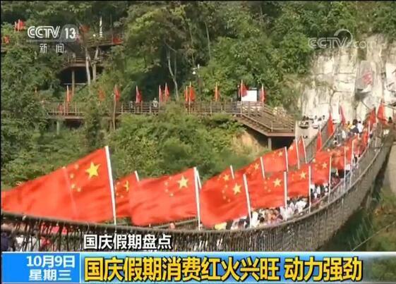 国庆假期多项消费数据创新历史新高 假日经济支撑中国经济增长