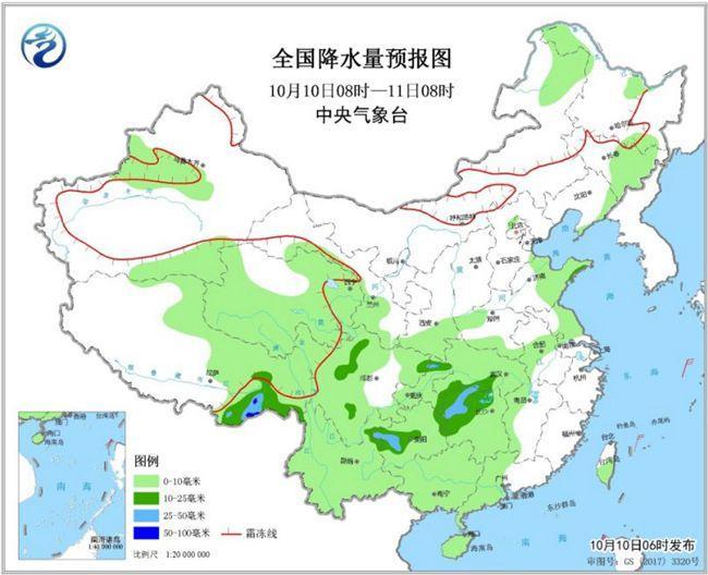 冷空气来袭 东北华北气温将创今年下半年来新低