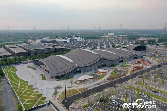 互联网之光博览会启用了新展馆互联网之光博览中心(桐乡市委宣传部供图)