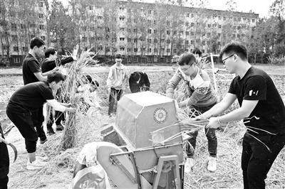 """四川大学设""""干农活""""课程 学生:参与农耕能获得满足感"""