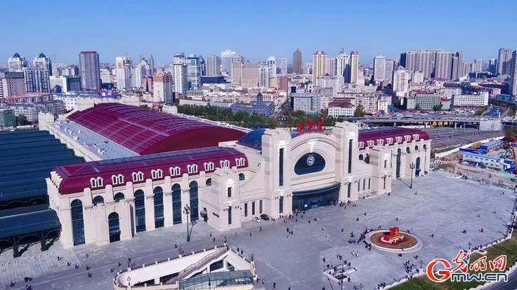 """【发现最美铁路】百年老站的""""复容""""涅槃——探访哈尔滨火车站"""