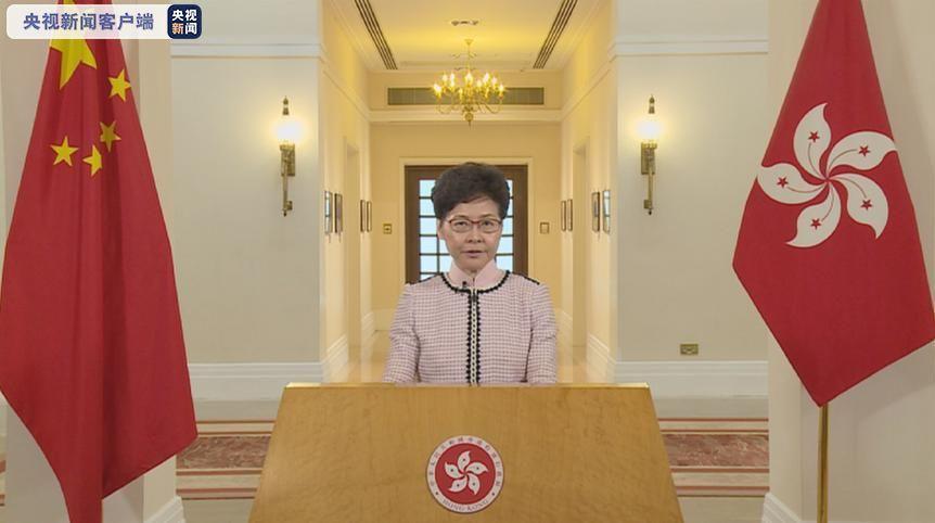 香港特首发表2019年《施政报告》 推出220多项新措施
