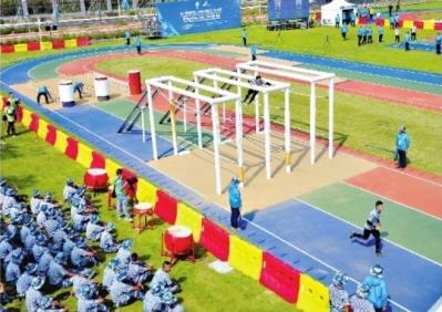 海军五项运动员入驻场馆 这个项目奥运会看不到