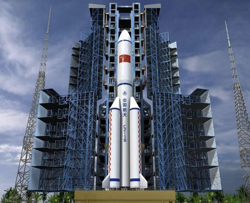 长征五号B火箭明年首飞 实施空间站建设
