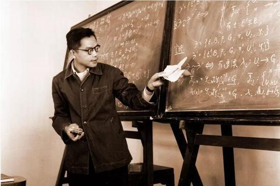 1955年吴文俊在数学所作拓扑学的学术报告