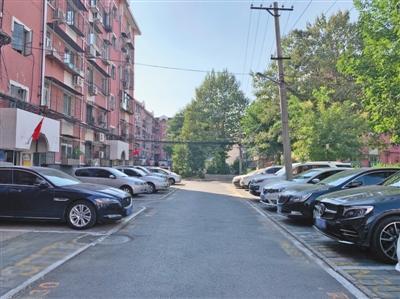 记者探访北京首个停车管理指引社
