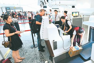 北京大兴国际机场即将满月 乘客有?#30007;?#23853;新体验?