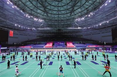 岗位技能练兵 第4届全国体育行业职业技能大赛总决赛结束