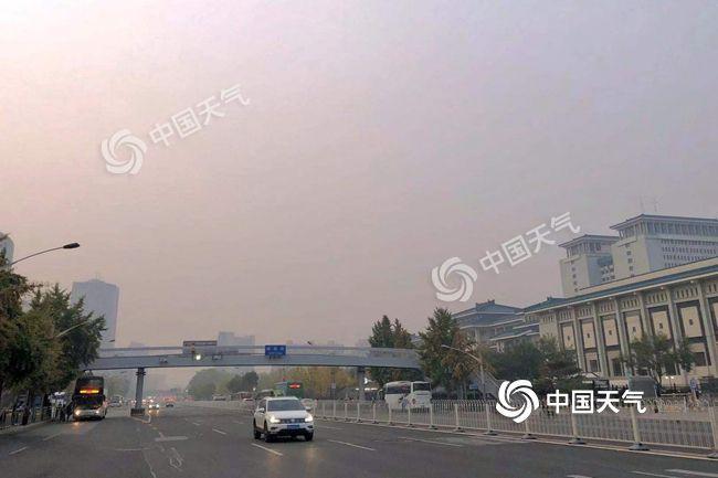 热氛围去了!北京昔日降雨微风降温轮流退场